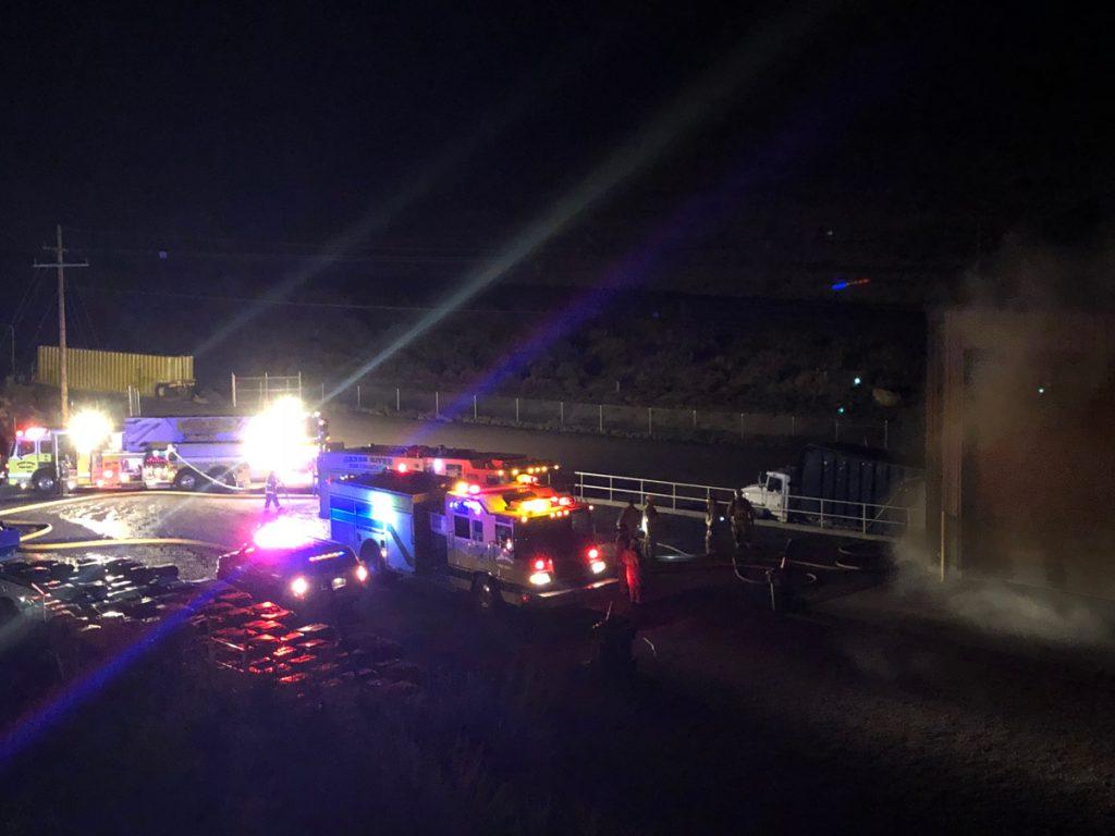Green River Transfer Station Fire Under Investigation