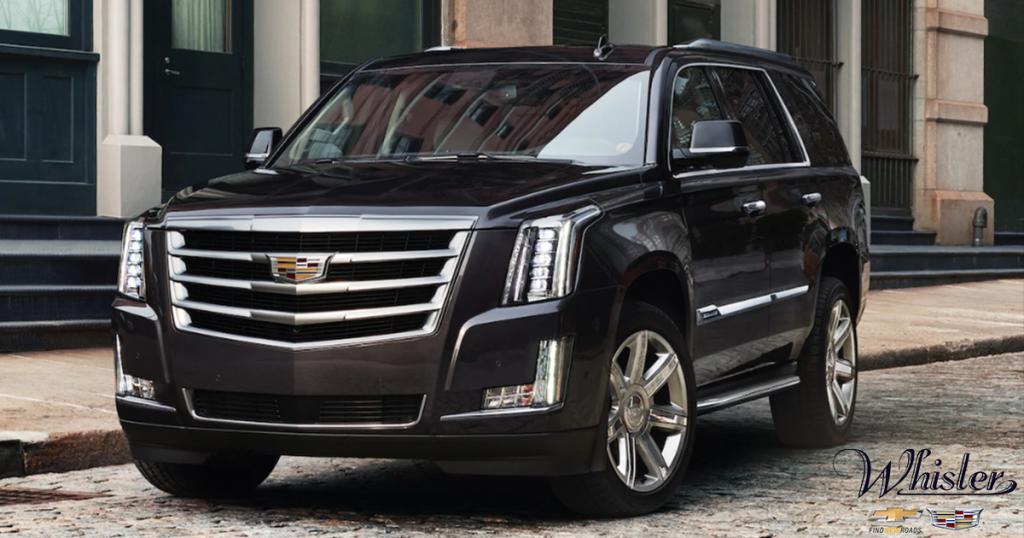Save on 2018 Cadillac Escalades at Whisler Chevrolet & Cadillac