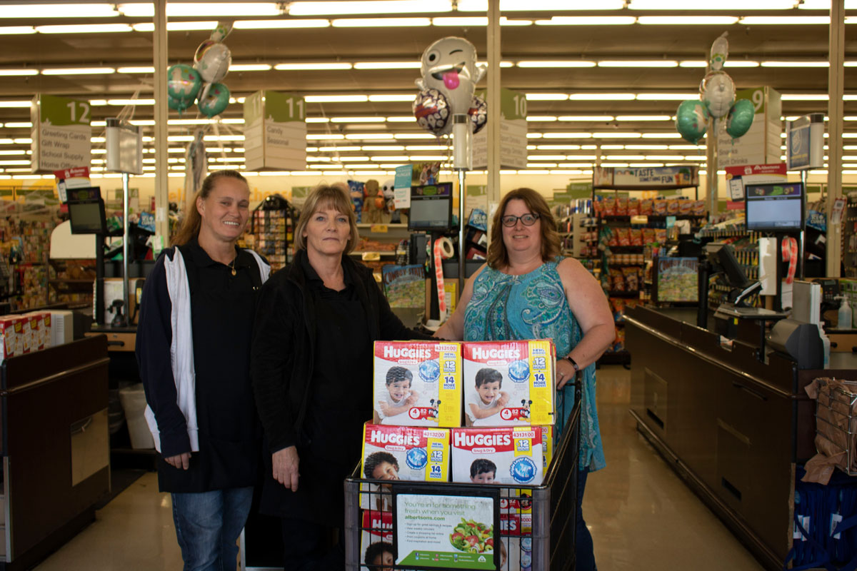 3,557 Diapers Donated for Diaper Need Awareness Week