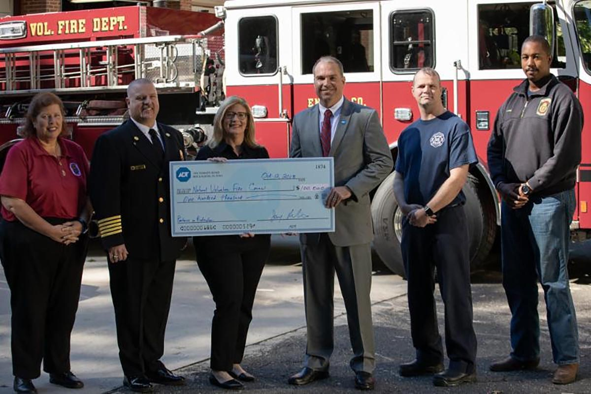 County Fire Department Receives Donation as Part of National Endowment