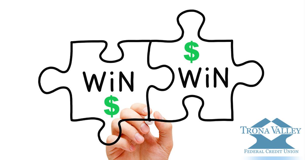 Score a Win-Win with Trona Valley FCU's Refer a Friend Program