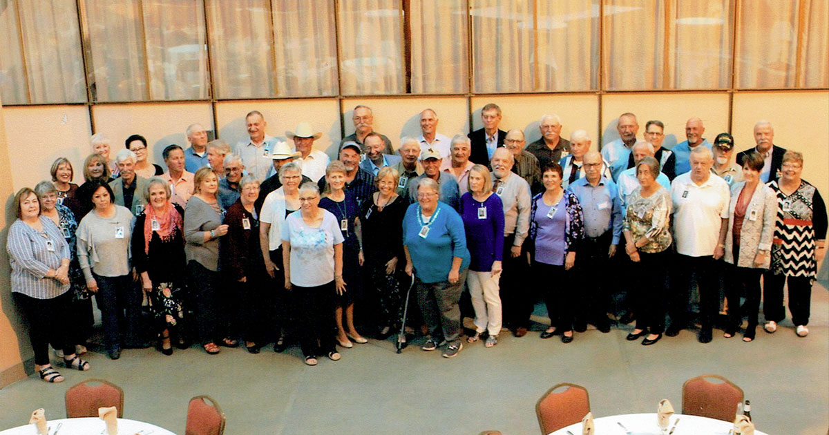 RSHS Class of '68 Celebrates 50 Year Class Reunion