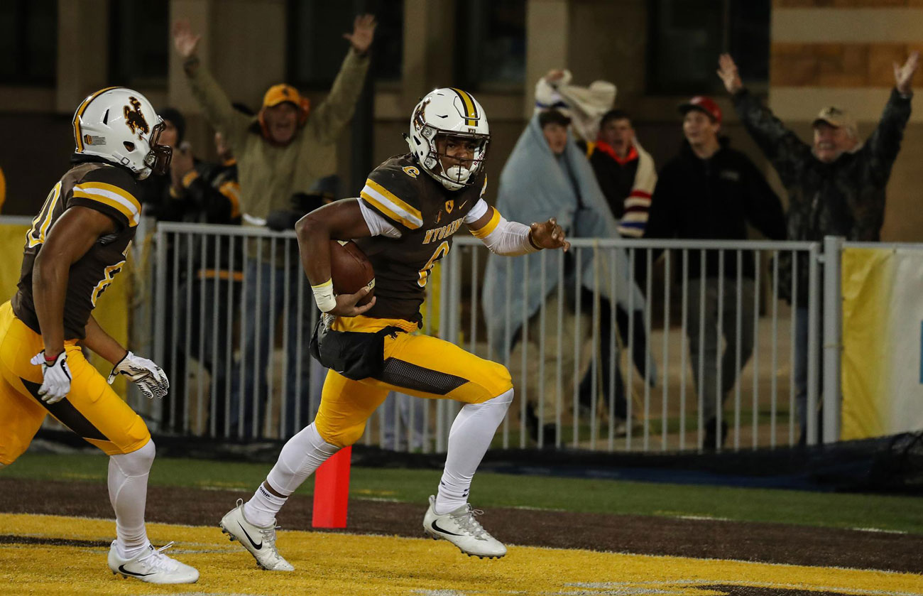 Trey Woods Leaving Wyoming Football Program