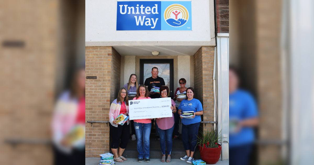 United Way Receives Dominion Energy Grant for Reading Program