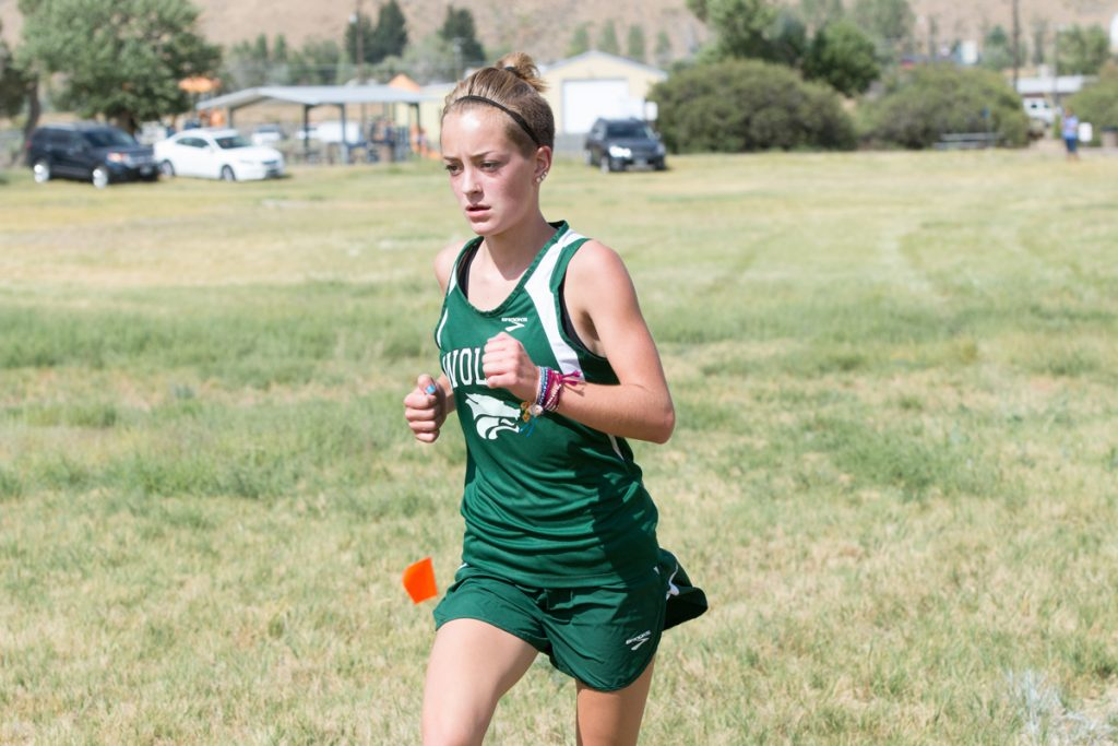 Green River High School Harriers Compete at Cheyenne Invitational