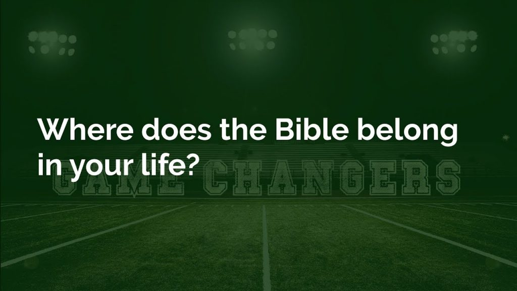Four Proven Practices for a Bible Guided Life!