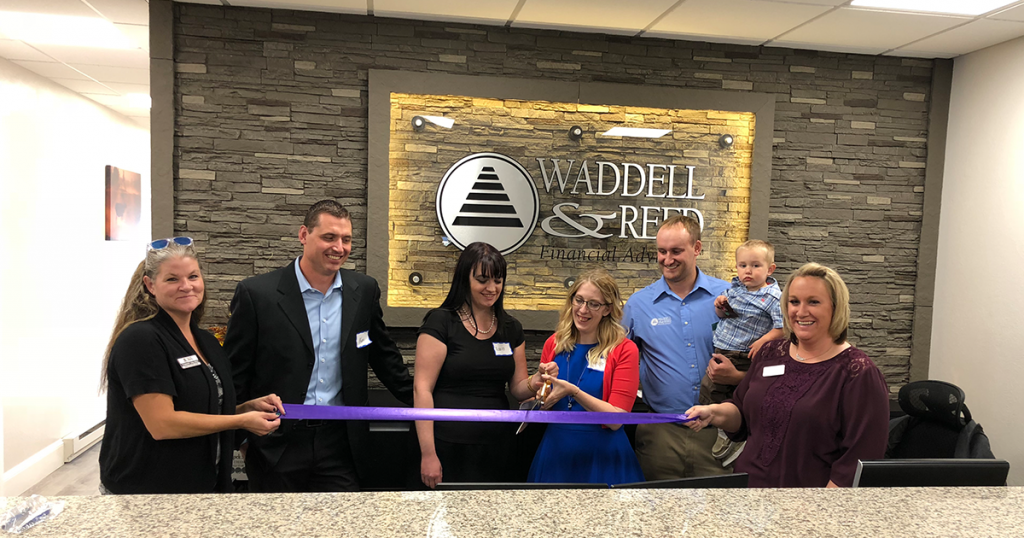 """The Waddell & Reed Staff Says """"Thank You"""""""