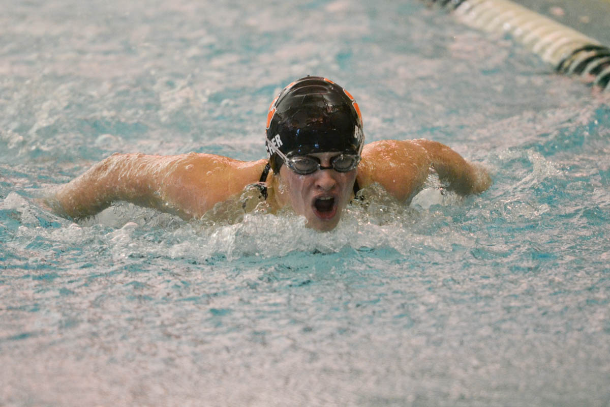 Lady Tigers Swimming and Diving Competes at Last Chance