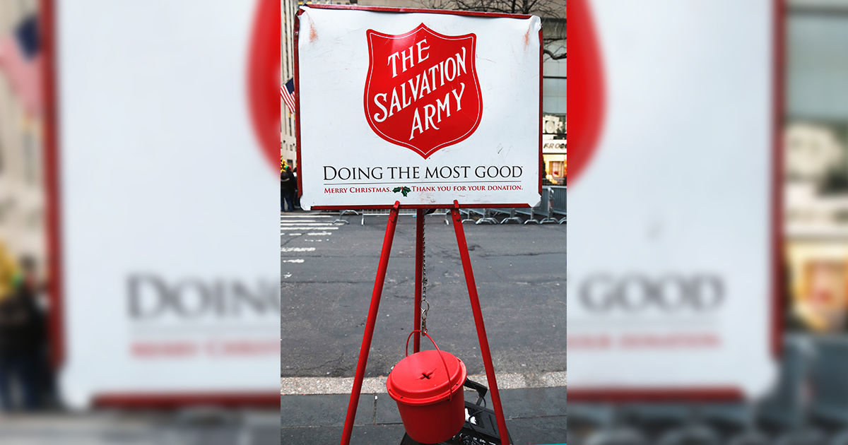 VOLUNTEER: Salvation Army Looking for Holiday Bell Ringers