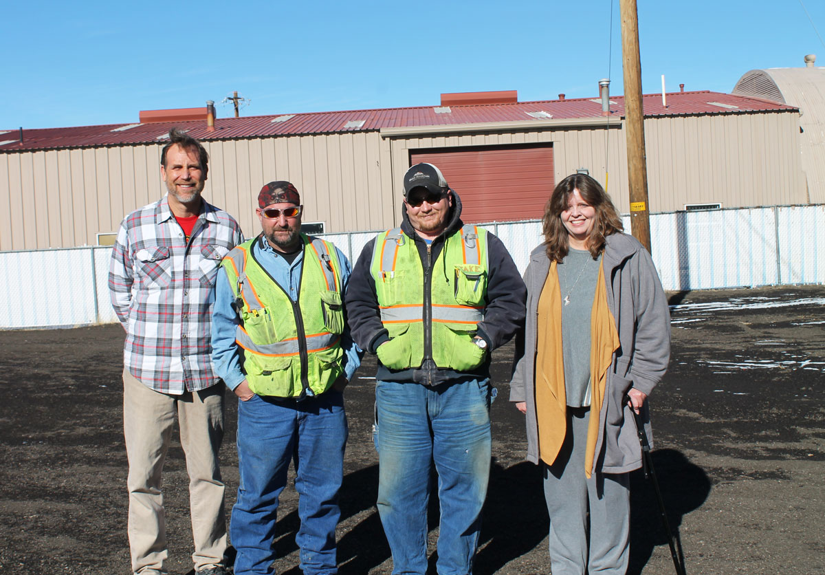 Food Bank Parking Lot Gets Paved by City of Rock Springs