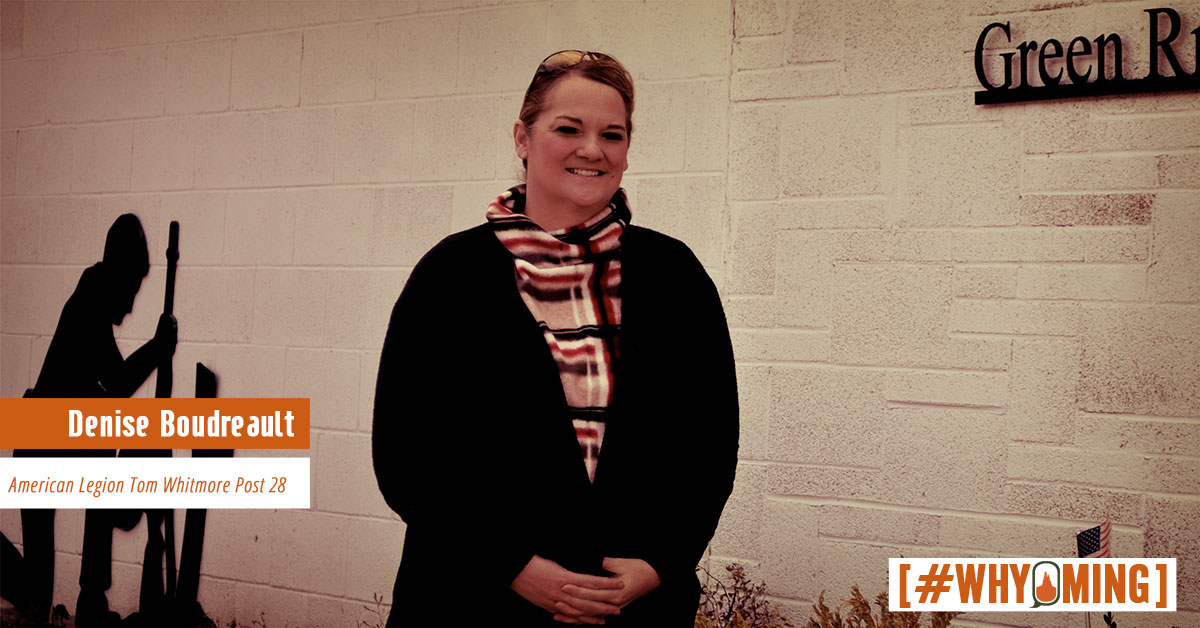 #WHYoming: Denise Boudreault