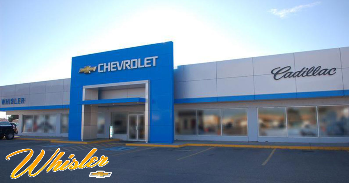 Whisler Chevrolet & Cadillac Has November Deals You'll be Thankful For