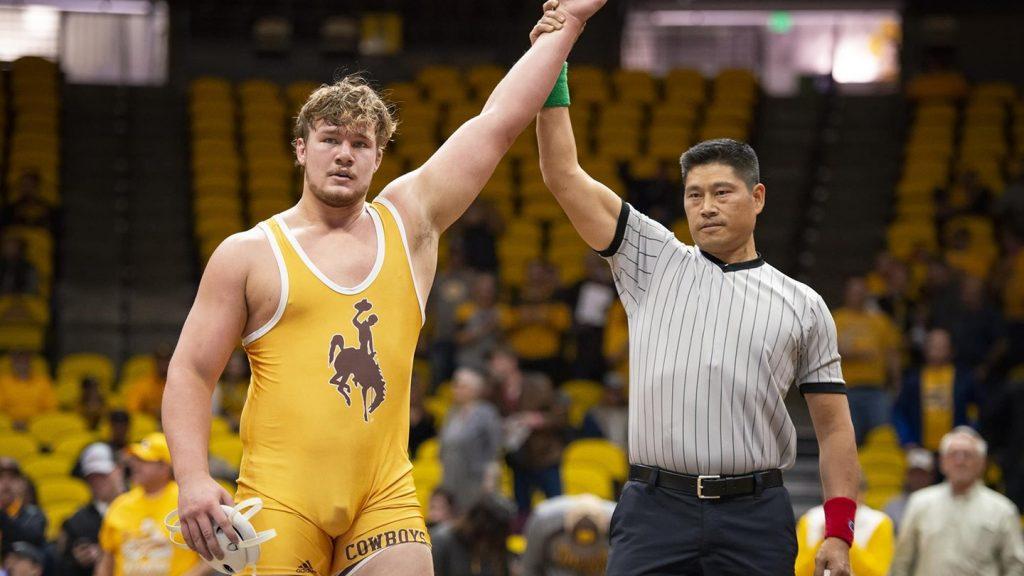 Cowboys Wrestling Earns Highest-Ranked Win in Program History