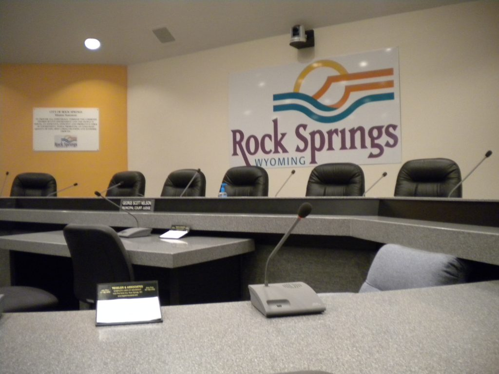 Rock Springs City Council Agenda for March 19
