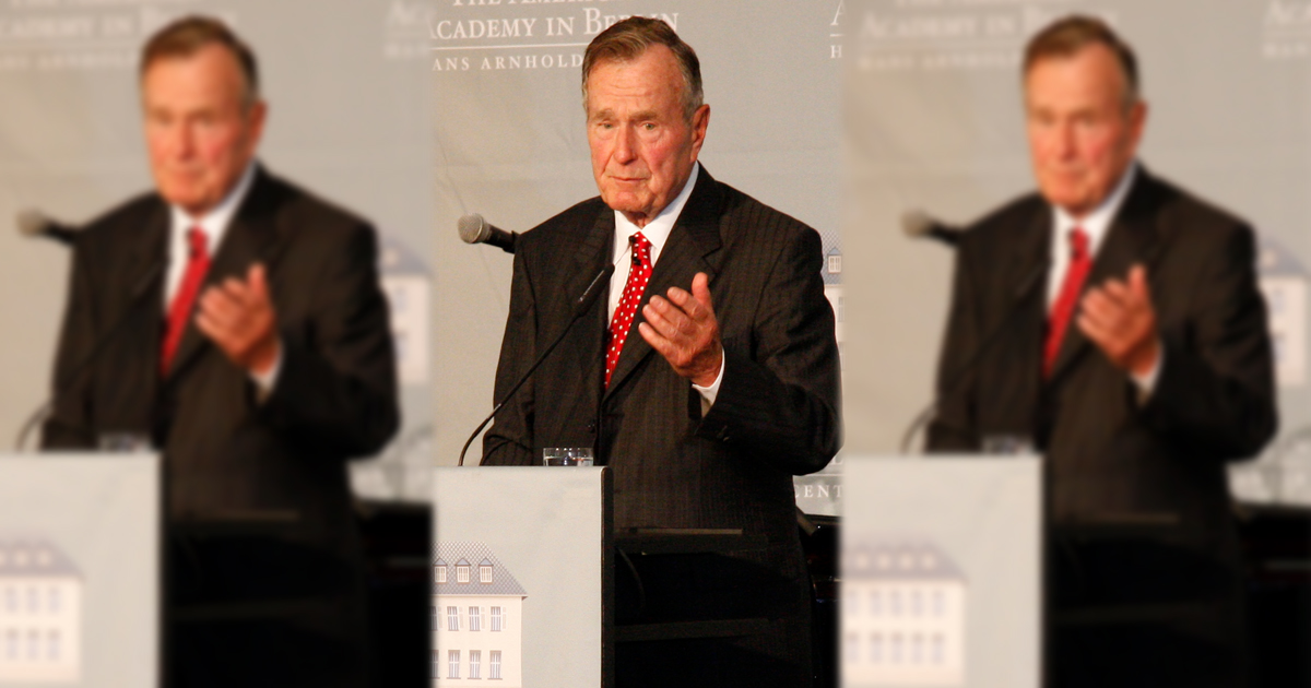 """Governor Mead Encourages Wyoming to Join in President George H.W. Bush """"Day of Mourning"""" Tomorrow"""