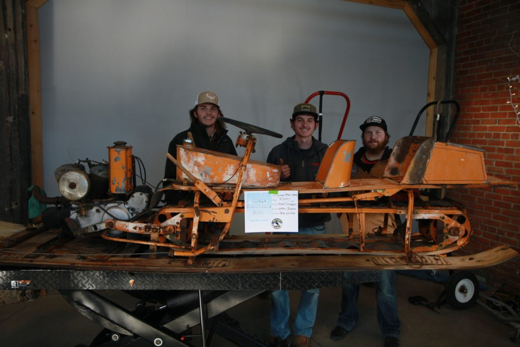 Sweetwater Snowpokes and ATV Club Host Vintage Snowmobile Show
