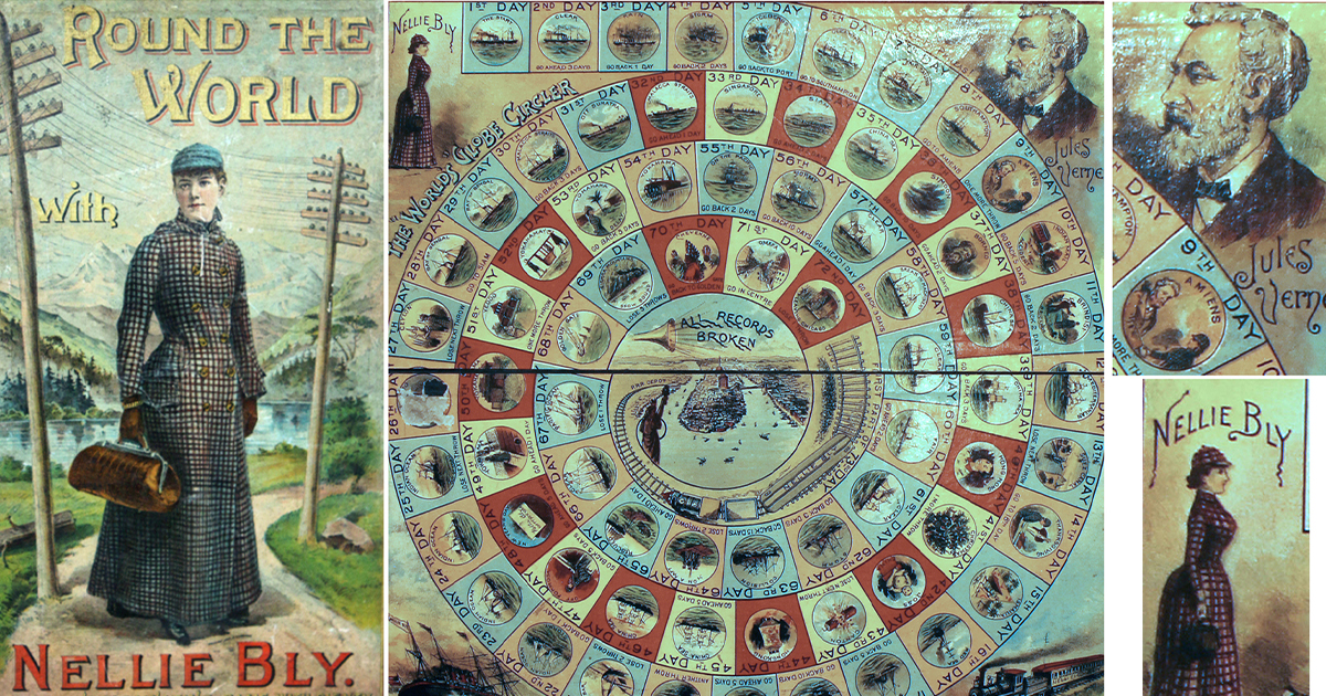 Board Game Featured in Christmas Exhibit
