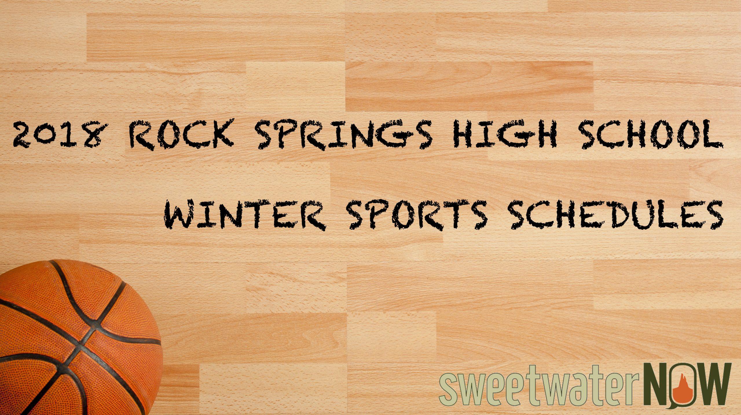 2018 Rock Springs High School Winter Sports Schedules