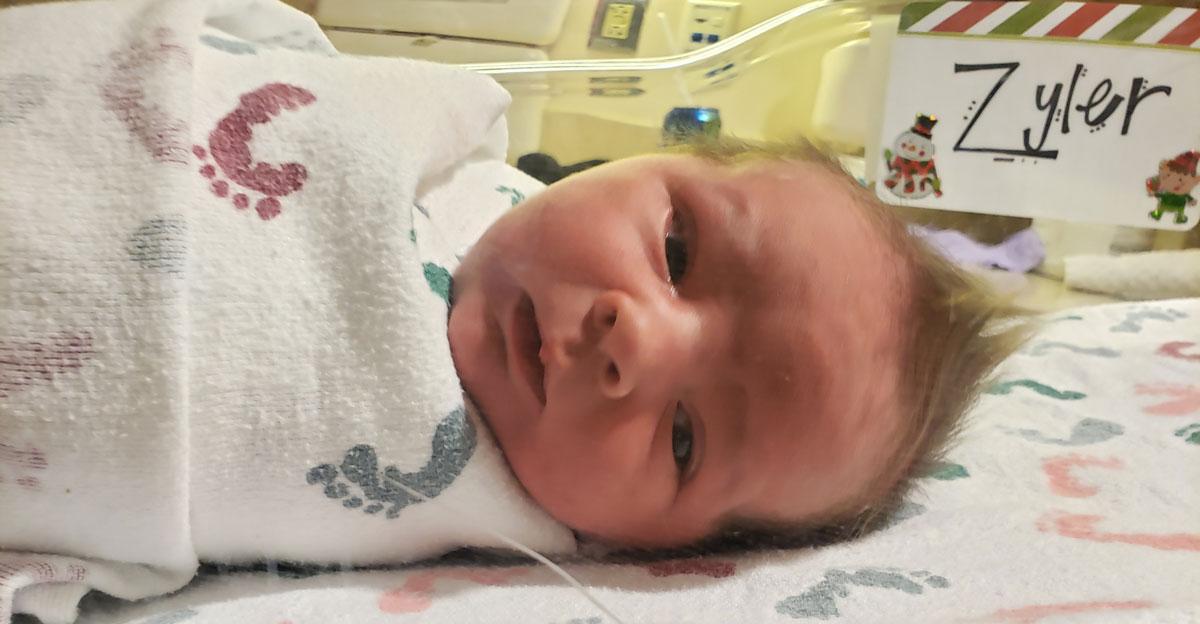 Birth Announcement: Zyler Joseph Ross Lambert