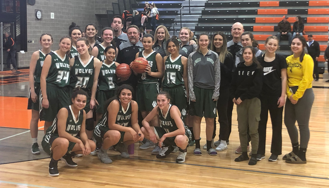 GRHS Head Girls Basketball Coach Earns 300th Win as Head Coach