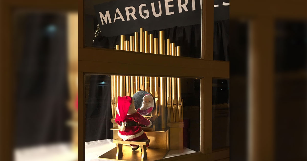 The Marguerite Santa on Display at the Rock Springs Historical Museum