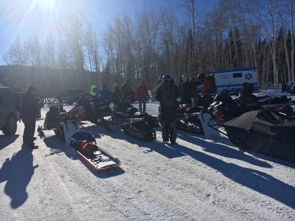 Rock Springs Snowmobile Rider Trapped in Horse Creek Avalanche
