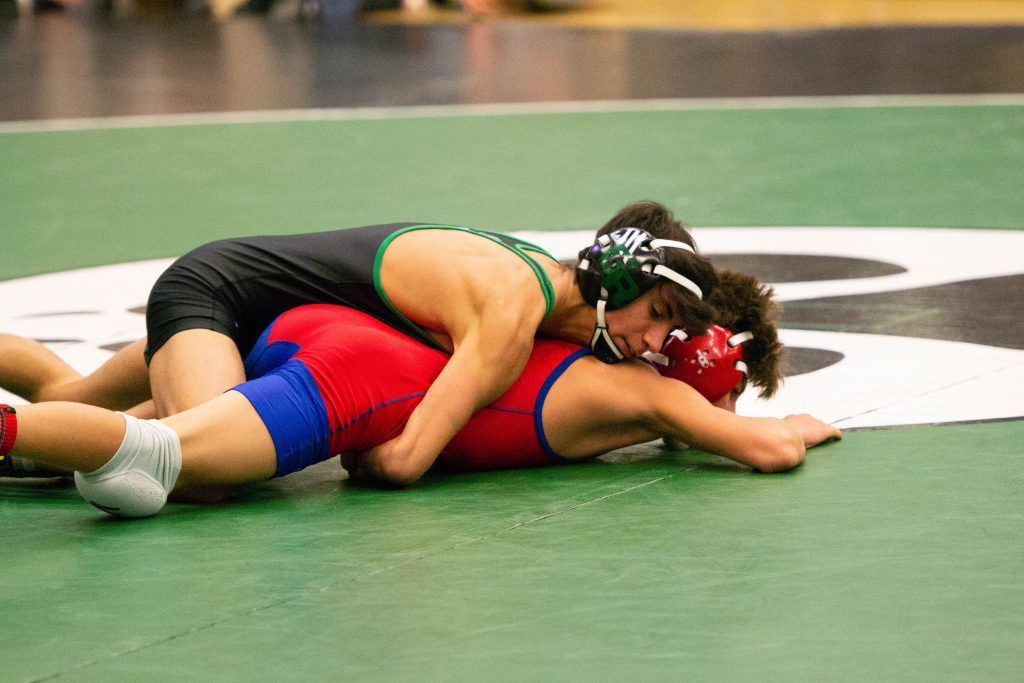 Wolves Wrestlers Take First in Idaho