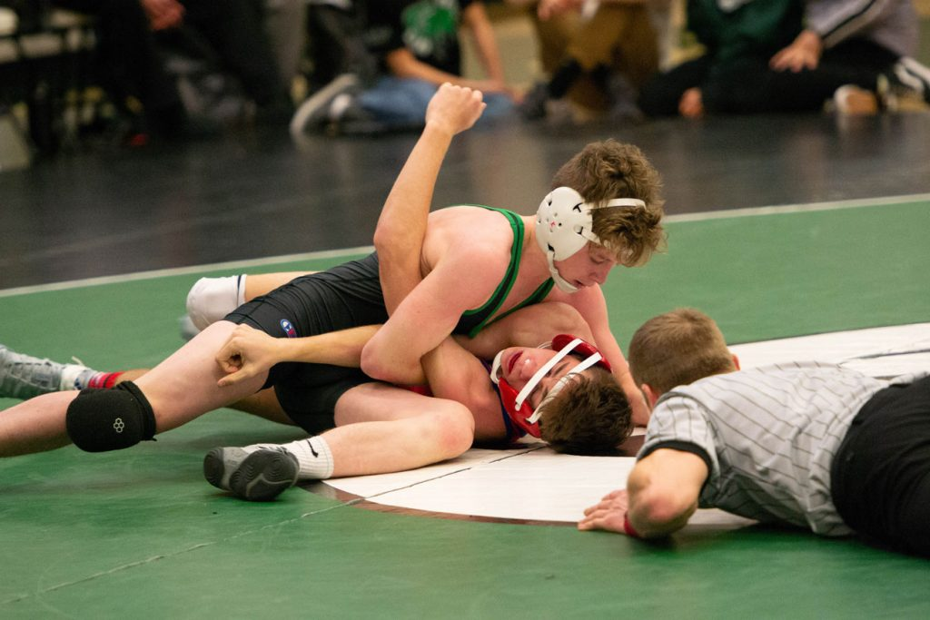 Wolves Wrestlers Take Second at Ron Thon