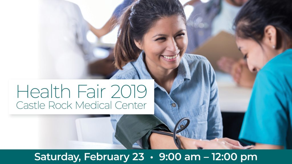 Come Out to the Castle Rock Medical Center Health Fair this Saturday
