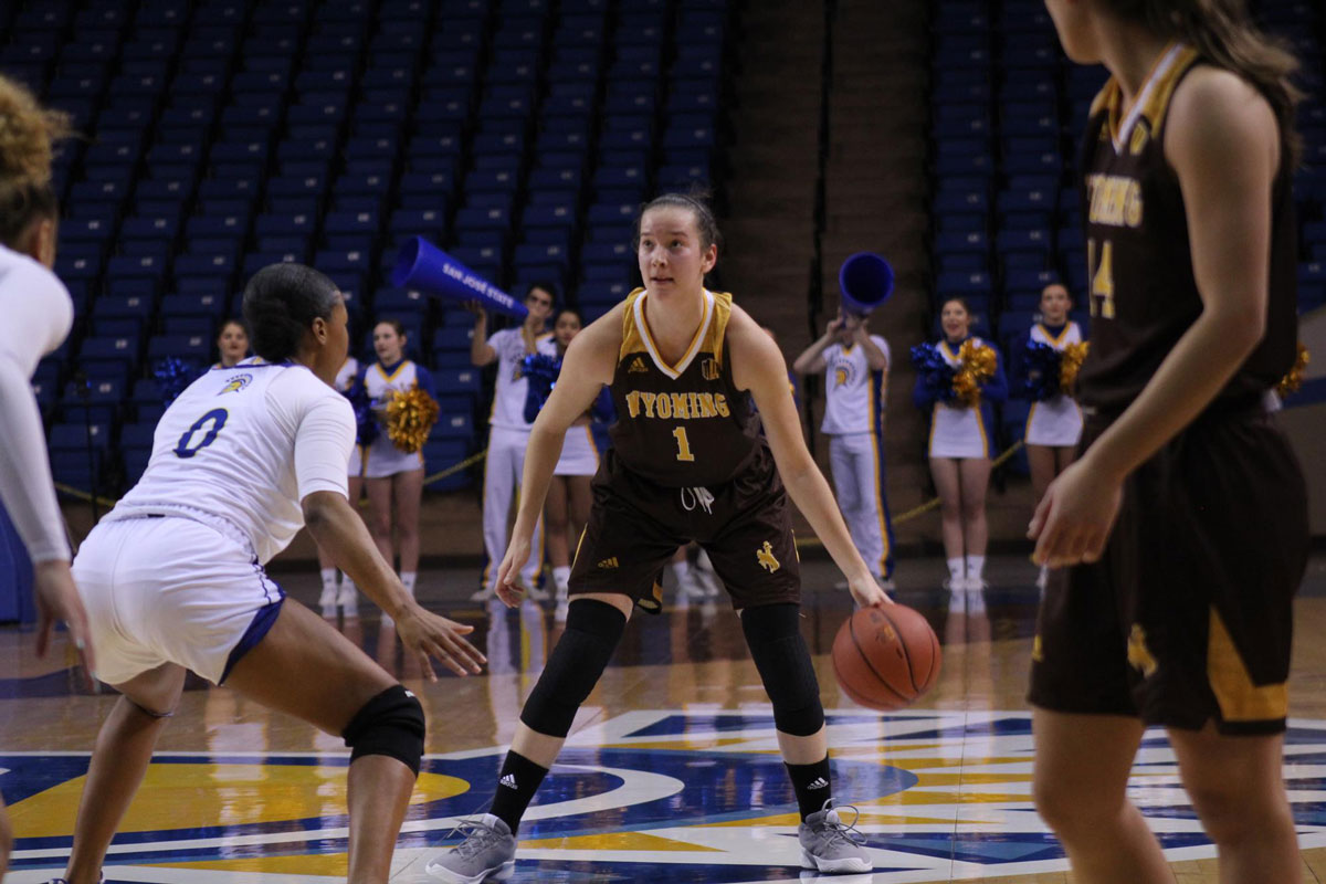 Cowgirls Take Down Spartans on the Road, 70-56