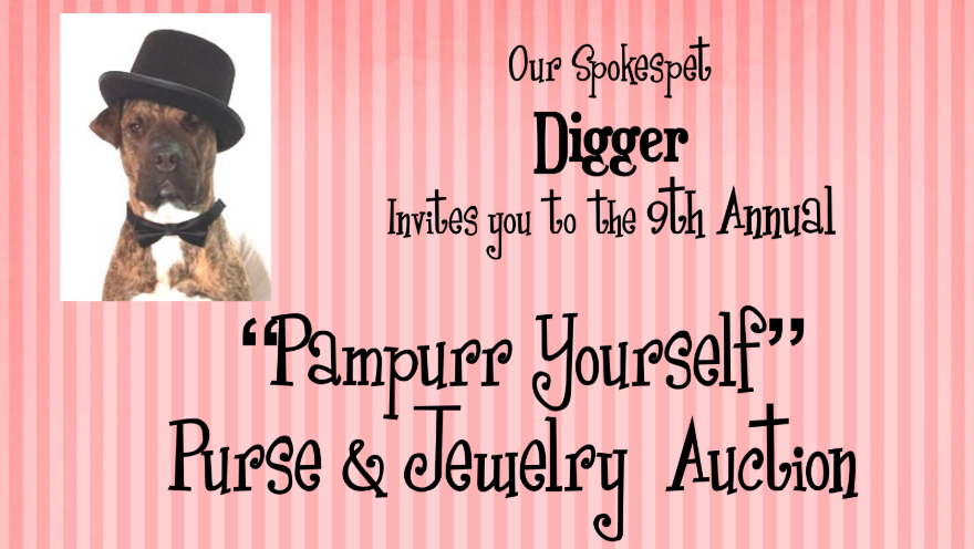 You're Invited to the 9th Annual Pampurr Yourself Purse & Jewelry Auction