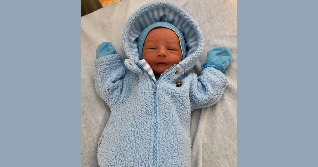 Birth Announcement: Hudson Don Halstead