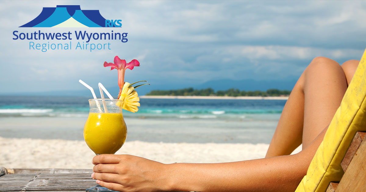 New Spring Break Destinations Available Through Southwest Wyoming Regional Airport!