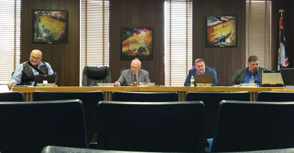 Sweetwater County Commissioners Agenda for June 4