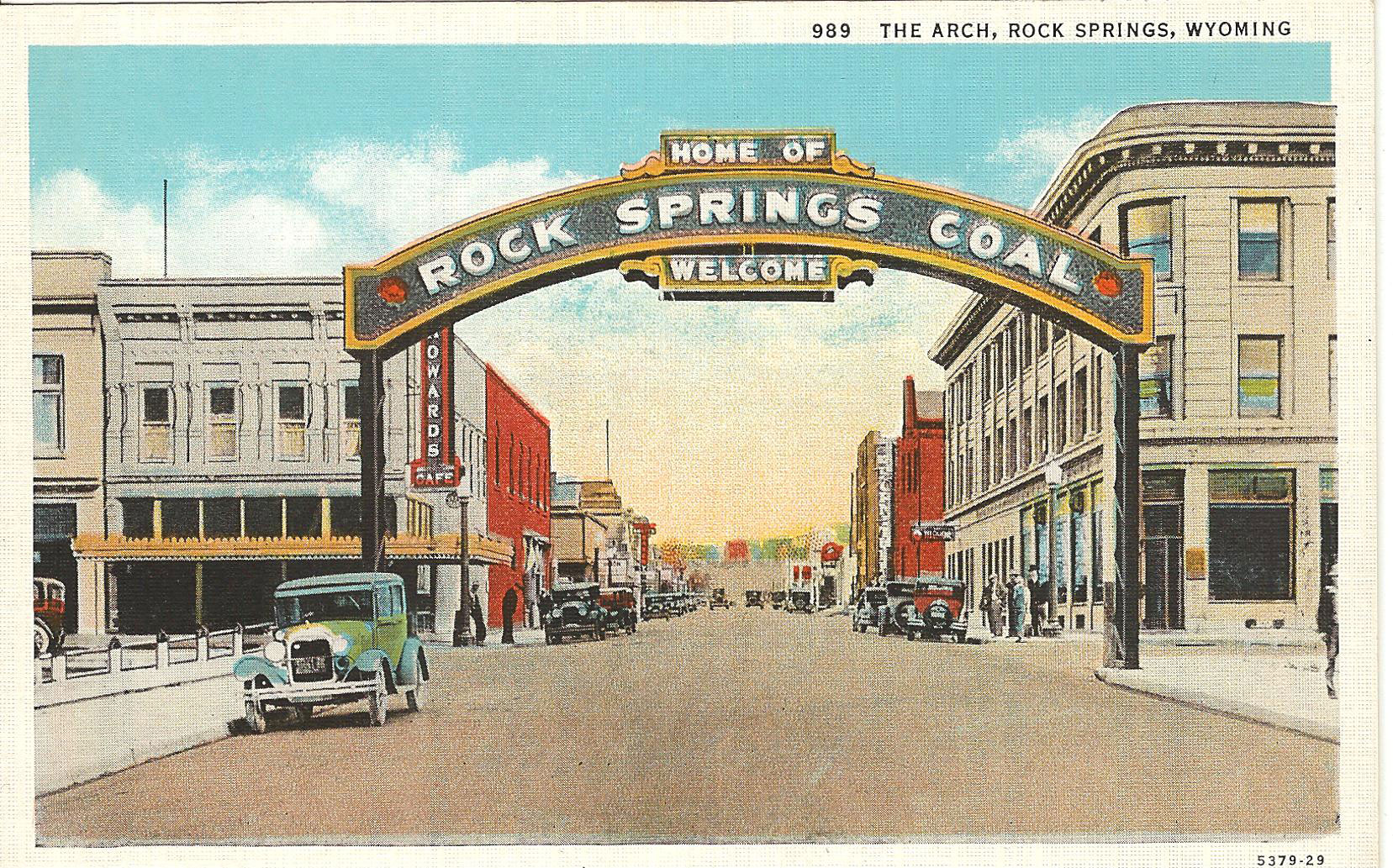 Welcome to the Home of Rock Springs Coal: The History of the Rock Springs Coal Arch (Part 1)