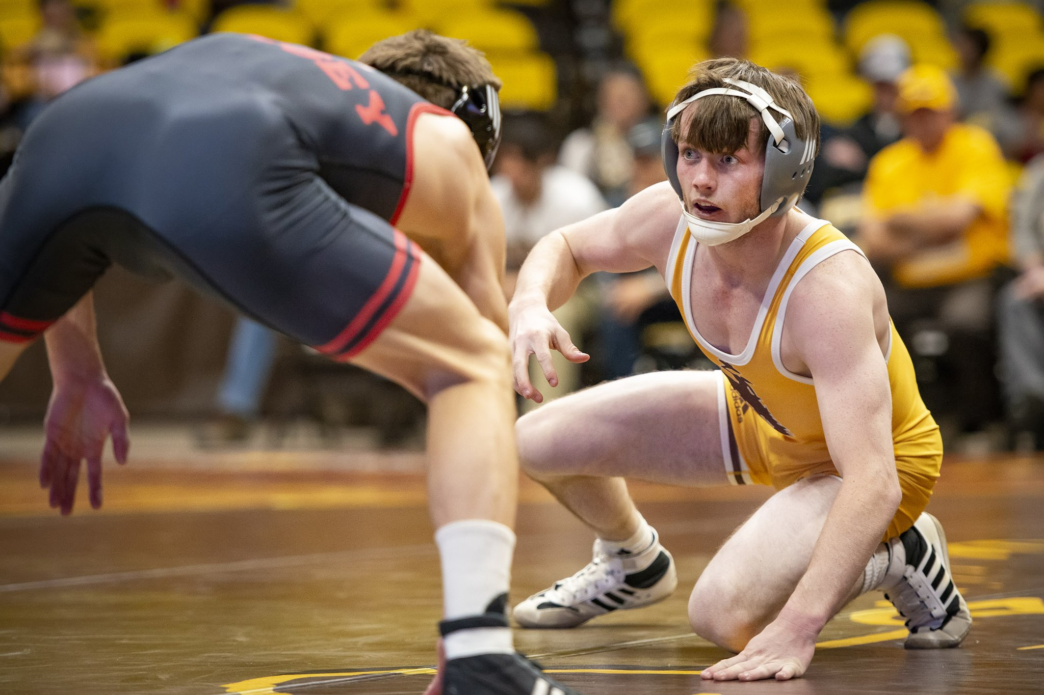 Three Cowboy Wrestlers Named to 2019 Academic All-Big 12 Team