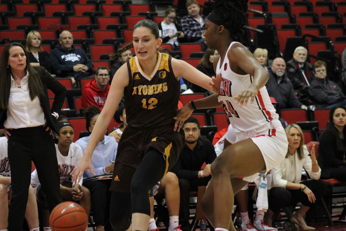 Cowgirls Beat UNLV, 64-49, for Program Record Eighth Mountain West Win in a Row