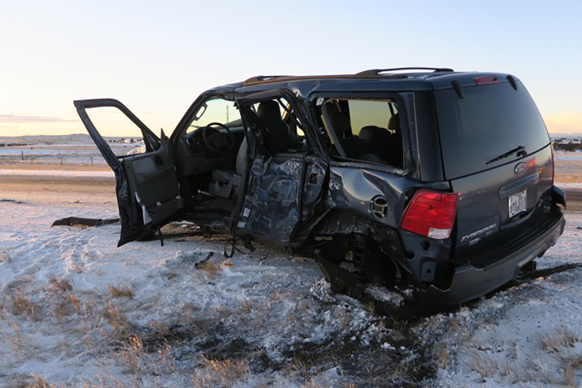 Drivers of Collision Avoid Major Injuries Due To Seat Belt Use