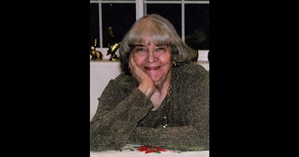 "Josephine ""Jo"" F. Douglas (March 10, 1926 – February 3, 2019)"