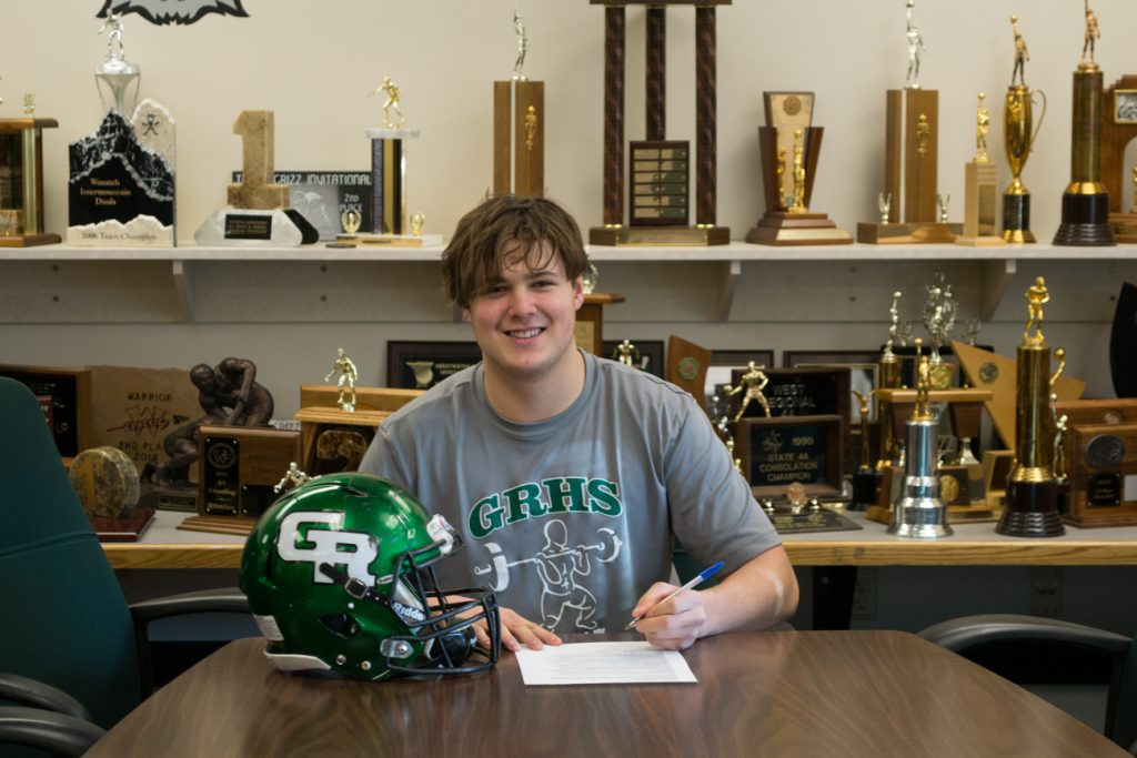 GRHS Football Standout Signs with Minot State University