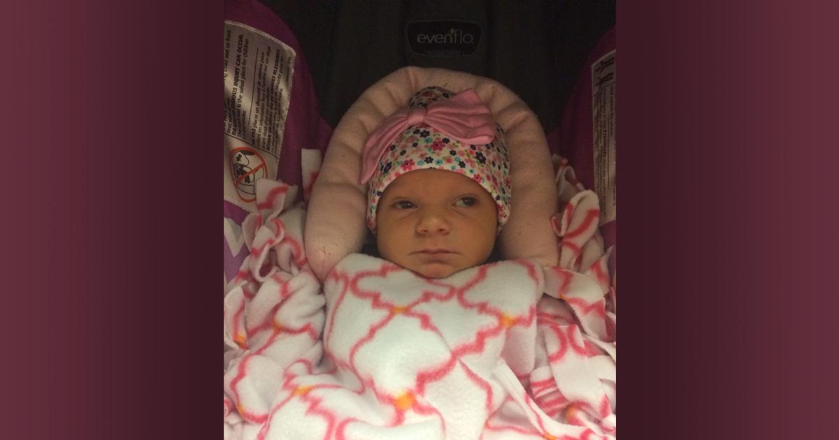 Birth Announcement: Athena Nicole Turner