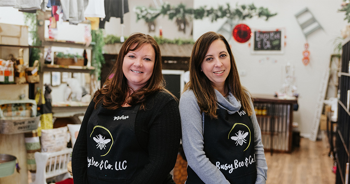 #HOMETOWN HUSTLE: Melissa Whitmore and Terri Mackley | Busy Bee & Co.