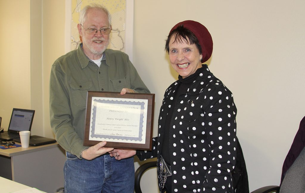 Conservation District Hands Out Awards to Local Residents