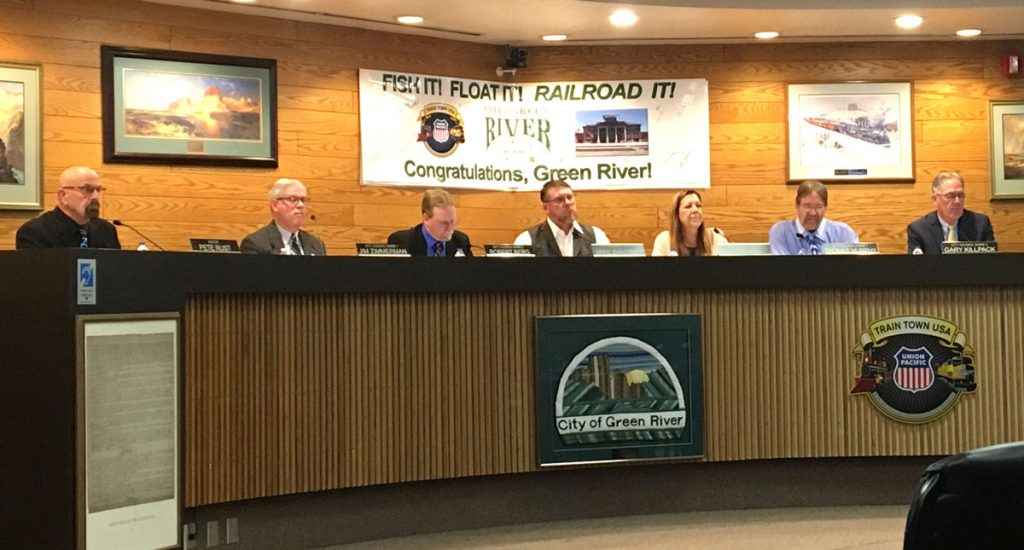 Green River City Council Agenda for August 6