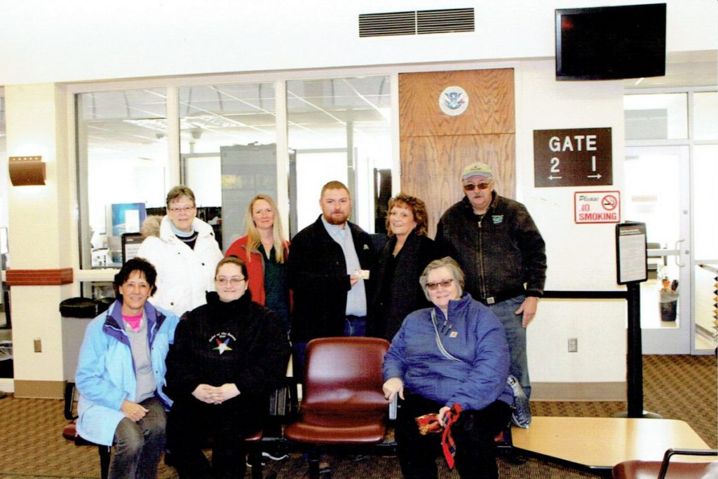Mountain Lily Chapter #10 Donates to Furloughed TSA Employees
