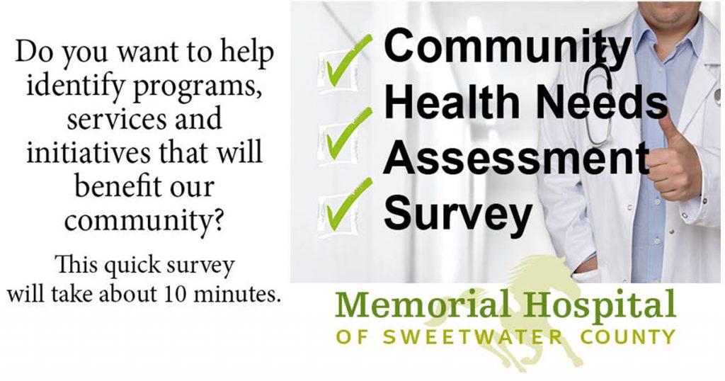 Take the Memorial Hospital Community Health Needs Assessment Survey