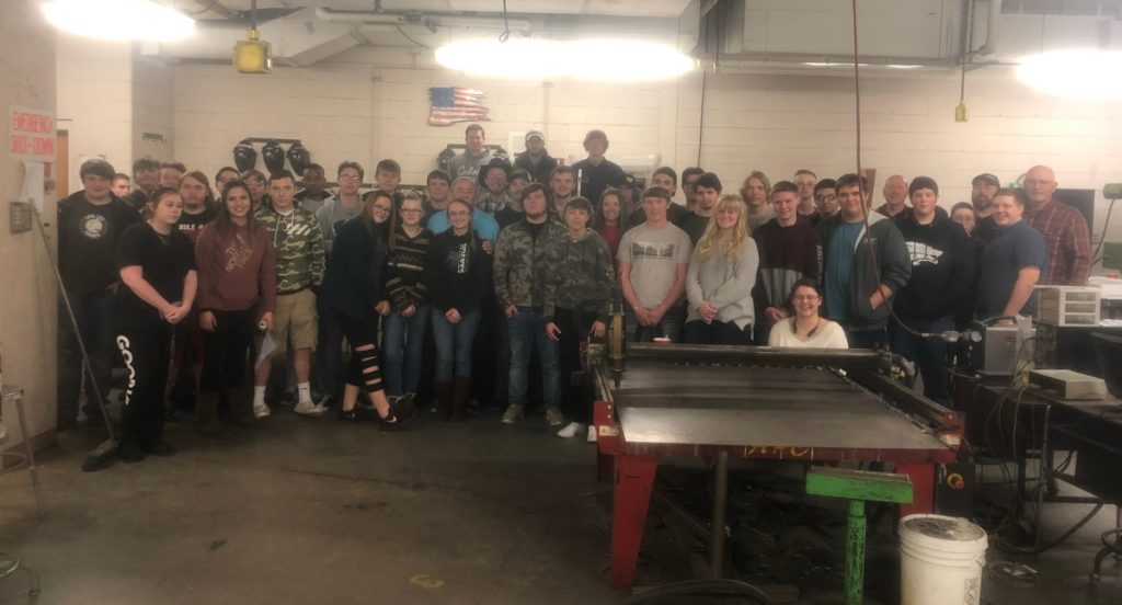 GRHS Welding and Autos Students Complete a Working Field Trip