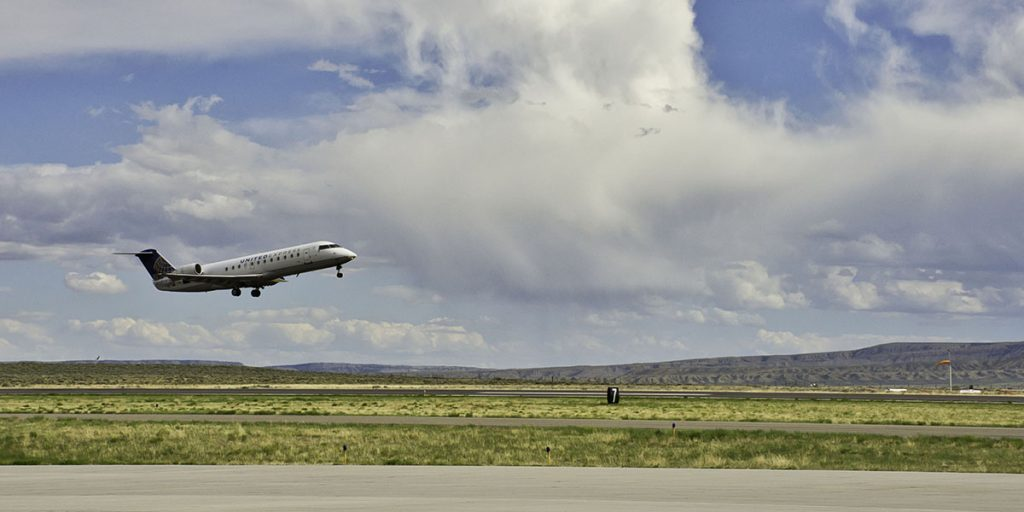 Flights Reduced at RKS Due to COVID-19 Travel Demand Reduction