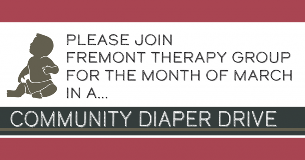 Join Rocky Mountain Sports & Fremont Therapy Group in Supporting Community Diaper Drive