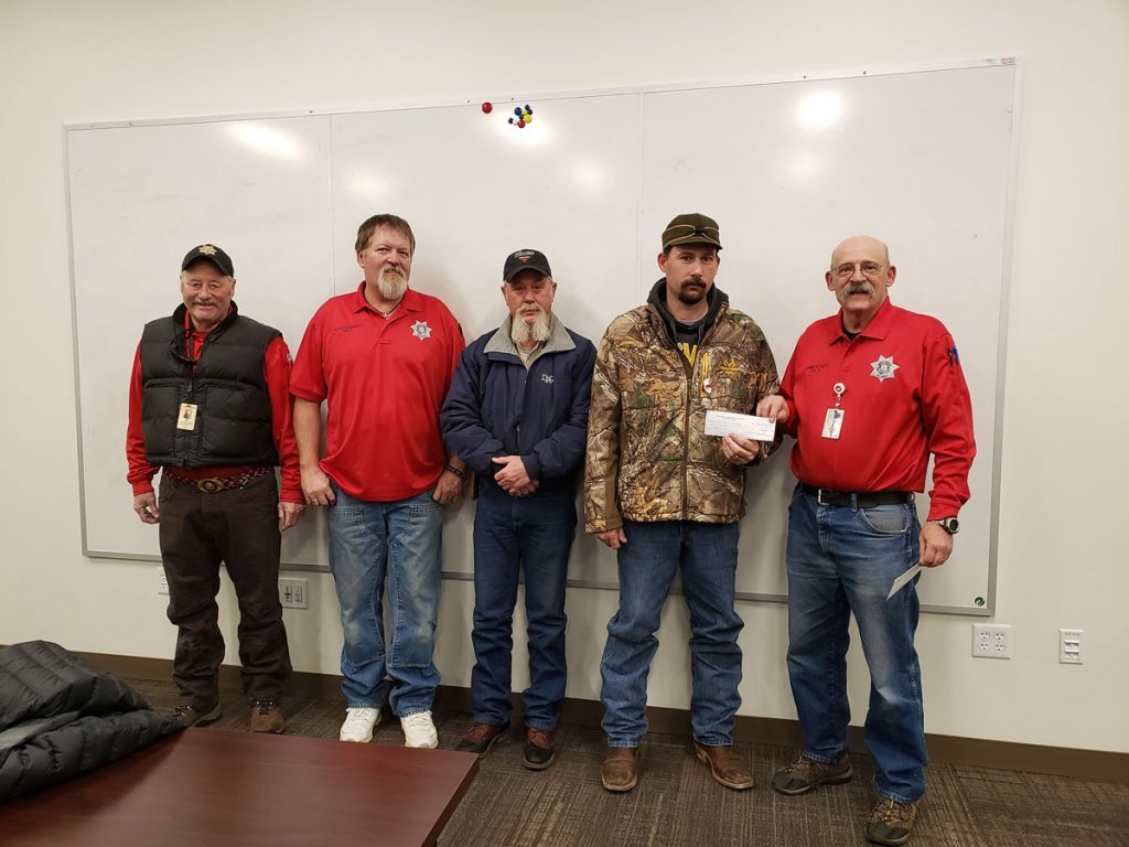 Red Desert Rodeo Board Donates to Sweetwater County Search and Rescue